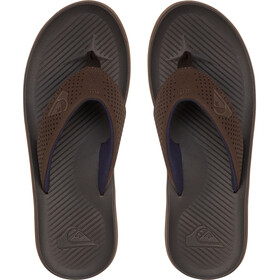 Quiksilver Haleiwa Plus Sandalias Hombre, marrón